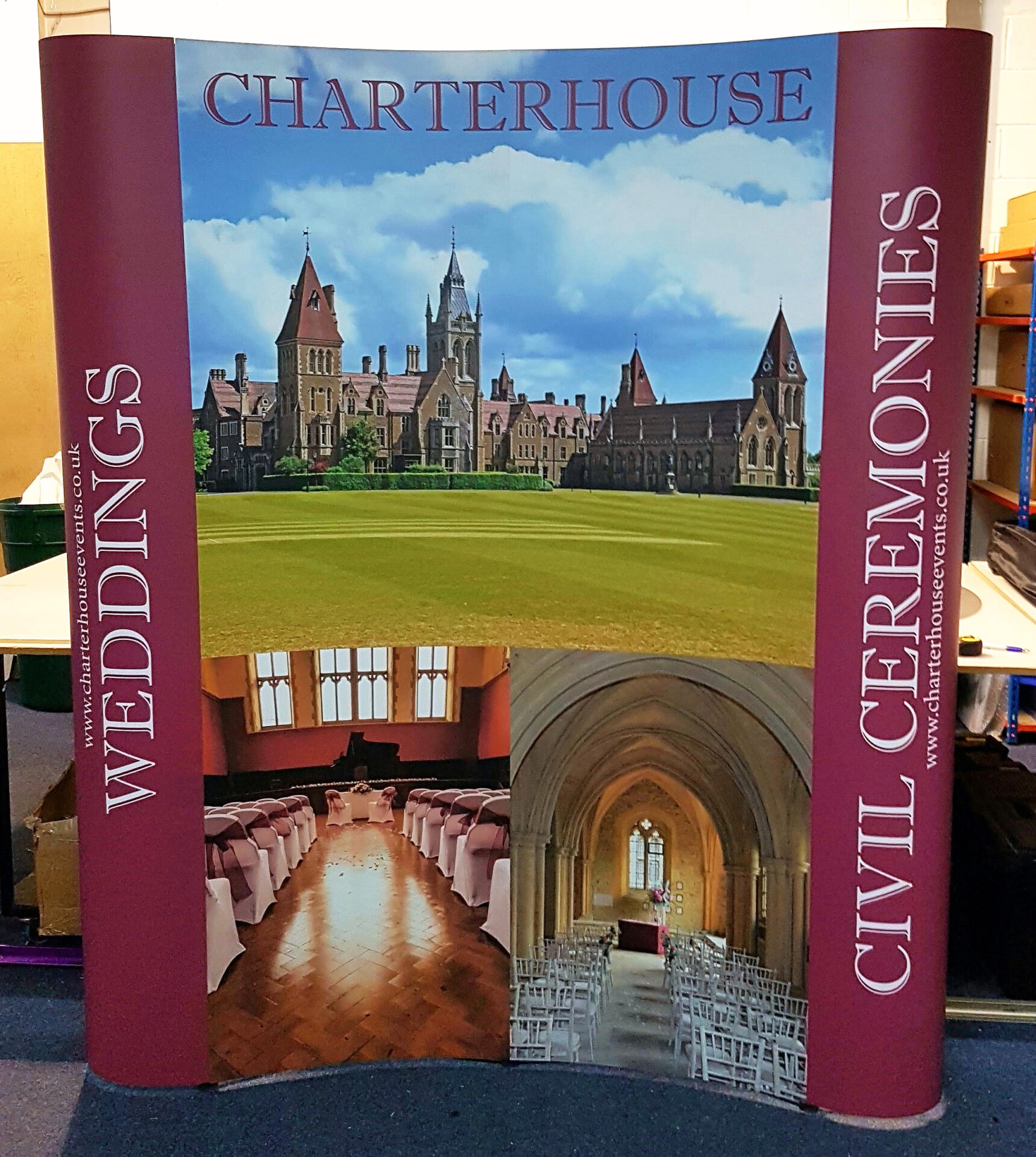 Charterhouse 3x2 Pop Up