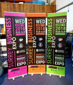 600mm Roller Banners in Surrey