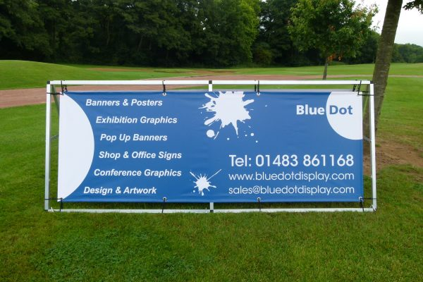 Outdoor Banner Stands in Hampshire