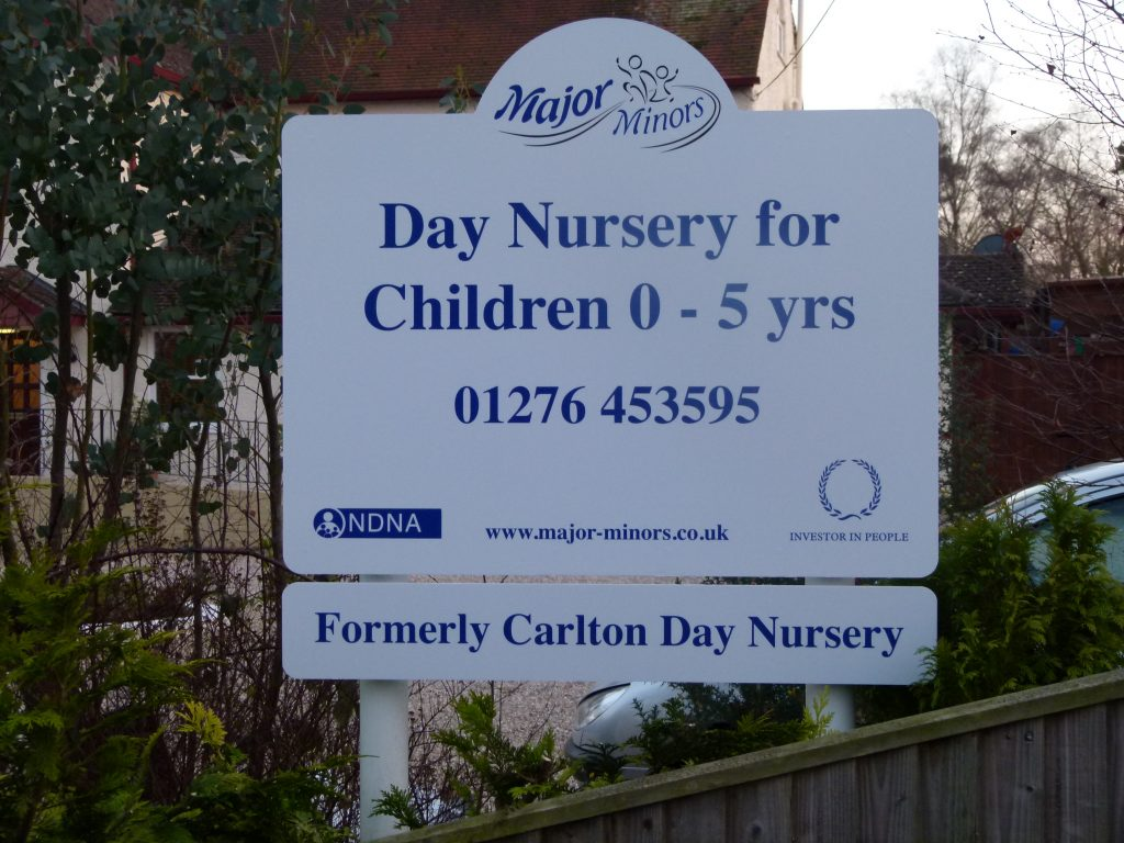 School Signage Hampshire