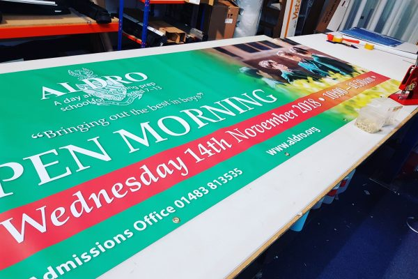 Printed Banners in West Sussex