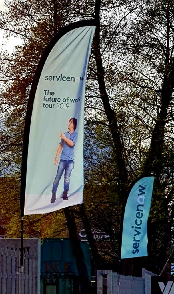 Pop up Banner Hampshire