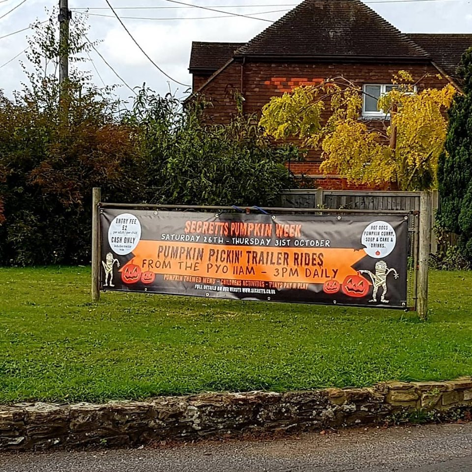 PVC Banners in West Sussex