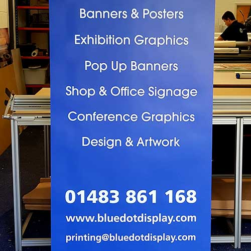 800mm Roller Banner Element in Surrey