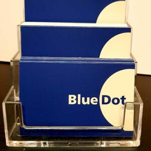 Bluedot Display business card printing services